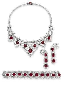 Cartier ruby suite