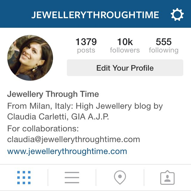 A Huge Thank You: 10,000 Followers reached on Instagram today!!