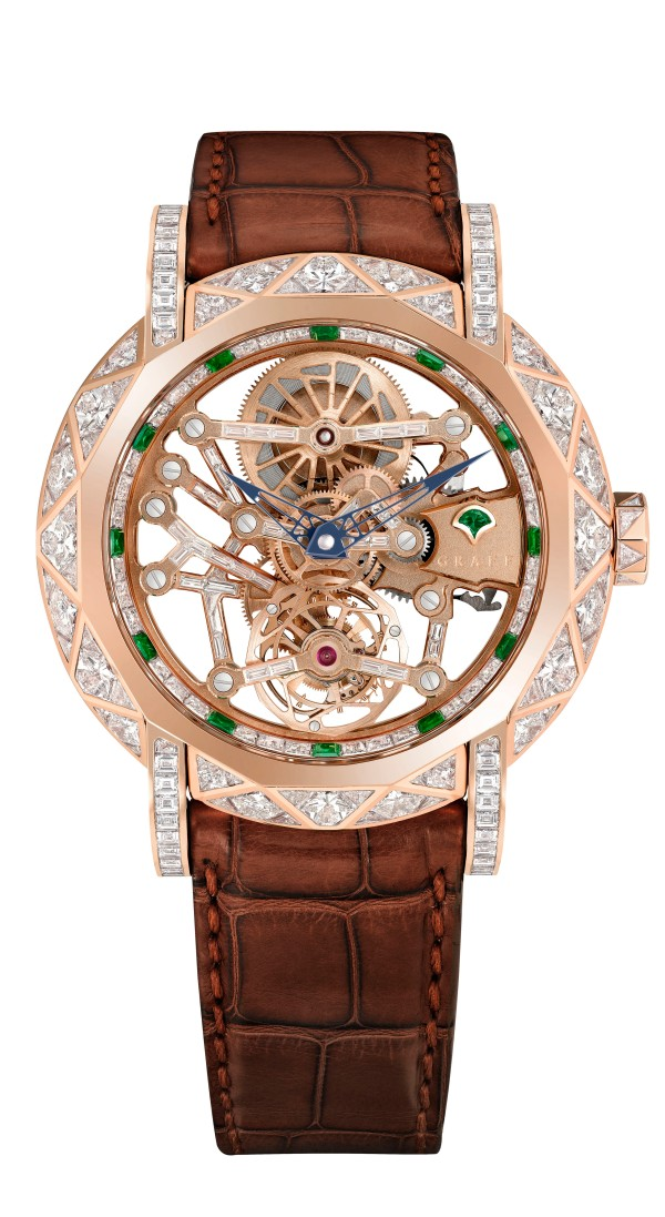 Graff Diamond MasterGraff Structural Tourbillon Skeleton