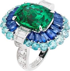 Adria Ring. Seven Seas High jewellery Collection. Van Cleef & Arpels.