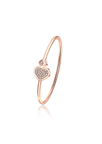 Chopard Happy Hearts bangle diamonds