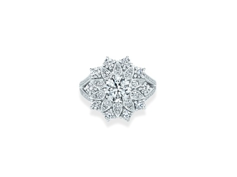 Lotus Cluster by Harry Winston, Large Diamond Ring