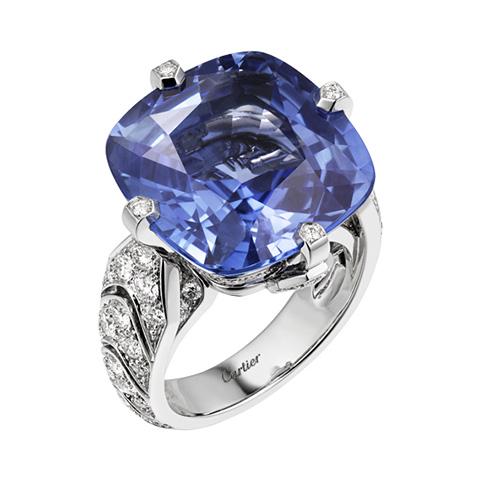 Cartier Magicien High Jewellery Ring.