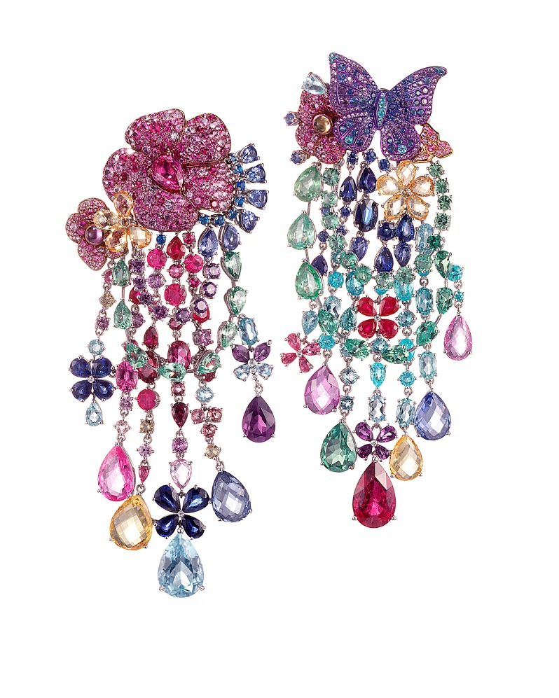RIHANNA ♥ CHOPARD Haute Joaillerie collection earrings